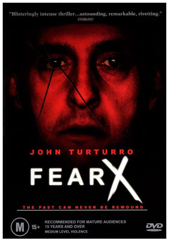Fear X film poster