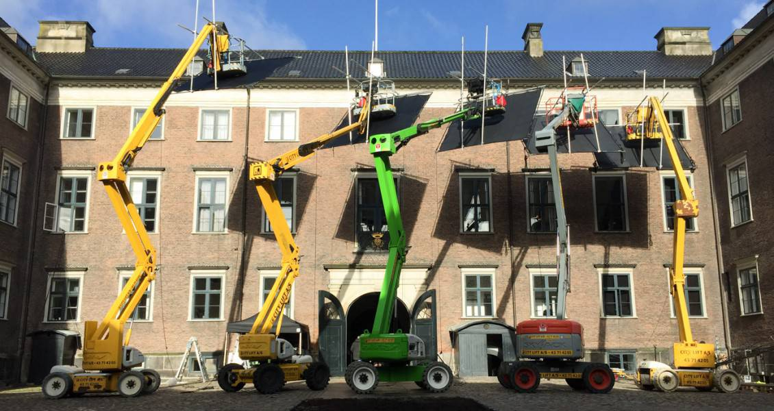 MARLOWFILM Productions – locations / cranes for The Danish Girl shoot